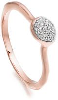 Monica Vinader Siren Diamond Small Stacking Ring