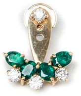 Yvonne Leon Emerald Single Earring