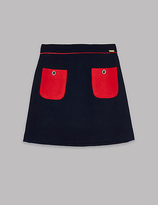 Autograph Patch Pocket Back Zip Skirt (3-14 Years)