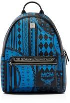 MCM Stark Baroque Print Backpack
