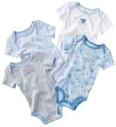 First moments ® 4-pk. puppy bodysuits - baby