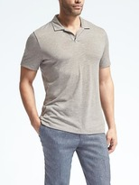Banana Republic Vintage Spread-Collar Polo