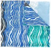 Diane von Furstenberg 'New Wave' pattern scarf
