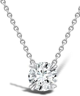 Pragnell 18kt white gold Windsor diamond pendant necklace
