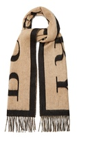 Burberry Logo-print cashmere scarf