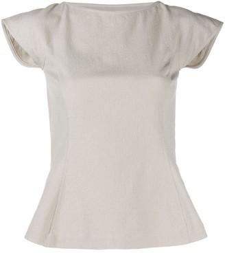 Rick Owens Sade cut-out blouse