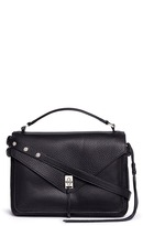 Rebecca Minkoff 'Darren' pebbled leather messenger satchel