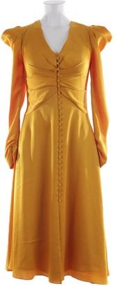 Jonathan Simkhai Yellow Leather Dresses