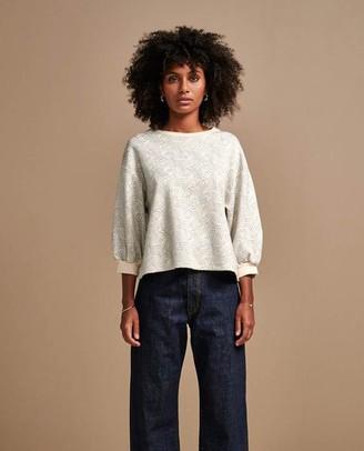 Bellerose Vow Metallic Sweatshirt - Size 0 UK6