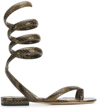 Bottega Veneta Wrap Around Sandals