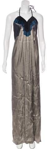 Lanvin Silk-Blend Gown