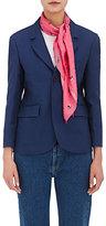 Balenciaga Women's Floral- & Star-Pattern Silk Scarf