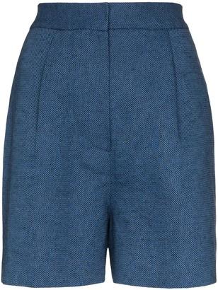 LVIR High-Waisted Shorts
