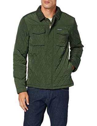 Scotch & Soda Men's Classic Quilted Shirt Jacket