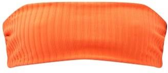 Solid & Striped The Annabelle Reversible Bandeau Bikini Top - Orange Multi
