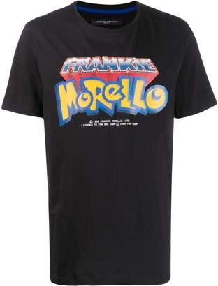 Frankie Morello Pokemon-style logo print T-shirt