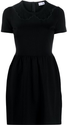 RED Valentino sheer collar dress