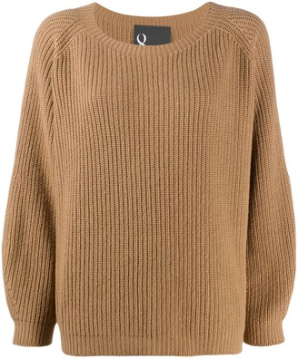 8pm Knitted Long Sleeve Top