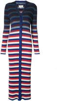 Maison Margiela gradient cardigan dress - women - Cotton - S