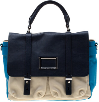 Marc by Marc Jacobs Tri Color Leather Werdie Top Handle Bag