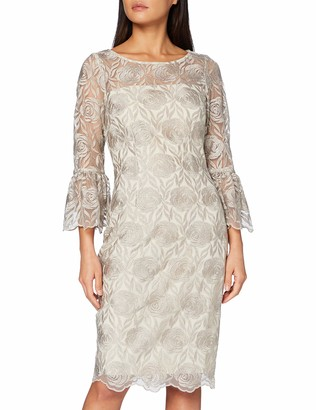 Gina Bacconi Women's Theora Embroidery Dress Cocktail