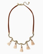 Charming charlie Inya Suede Cord Necklace