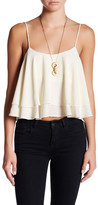 Free People Tropical Wave Tiered Flounce Top