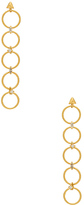 Luv Aj The Scattered Gem Loop Earrings