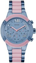 GUESS Blue and Pink Showstopping Sport Watch