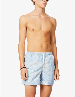 Bather Bandana paisley-print swim shorts
