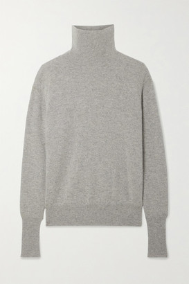 Nili Lotan Ralphie Cashmere Turtleneck Sweater - Gray