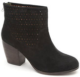 Qupid Perforated Ankle Booties