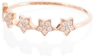 Rosa de la Cruz 18kt Rose Gold Diamond Ring