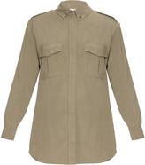 Equipment Major silk shirt