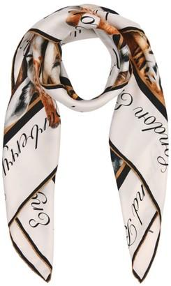 Burberry Silk Animal Print Scarf