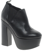 Asos PREMIUM AFFLICTION Leather Ankle Boots
