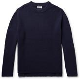 Acne Studios Nicholas Ribbed Wool Sweater - Navy