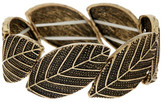 Stephan & Co Stretch Leaf Bracelet