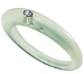 DUEPUNTI Ice Collection Diamond Ring in Sea Green