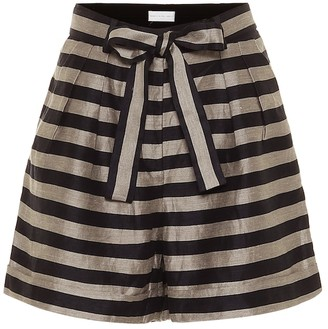 Rebecca Vallance Nautique striped shorts