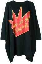 Vivienne Westwood logo print oversized T-shirt