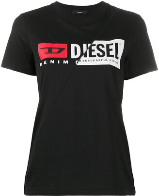 Diesel Double Logo slim-fit T-shirt