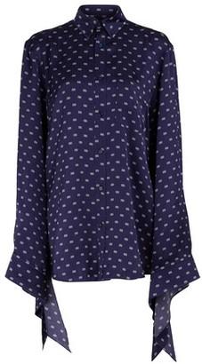 Balenciaga Oversize shirt with knotted cuffs
