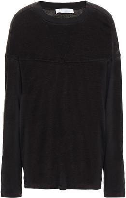 IRO Cowan Slub Linen-jersey Top
