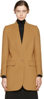 Stella McCartney Tan Bryce Single-button Coat