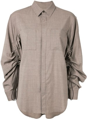 G.V.G.V. Ruched Sleeve Shirt