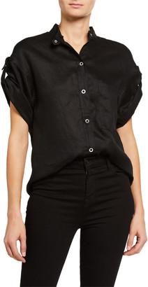 Equipment Drace Short-Sleeve Button-Down Shirt