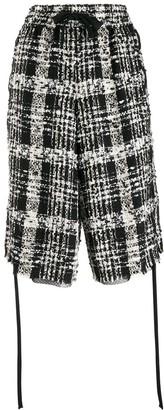 Faith Connexion Long Tweed Shorts