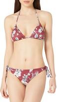 Thumbnail for your product : Portfolio Emporio Armani Swimwear Women's Triangle Rem.Cups & Brazilian W/Bows Bikini Tropical Garden Set
