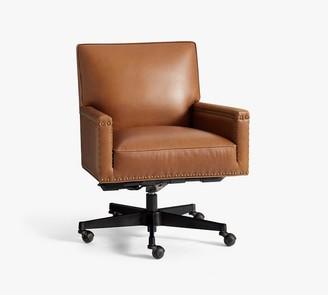 Pottery Barn Tyler Leather Desk Chair
